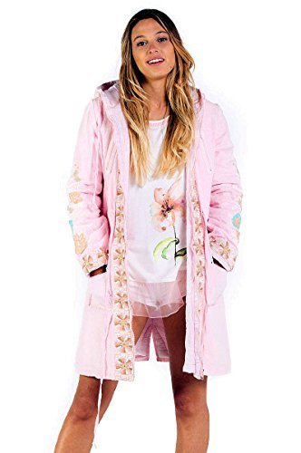Savage Culture Damen Ischia I Parka, Pink (Rosa 009), L