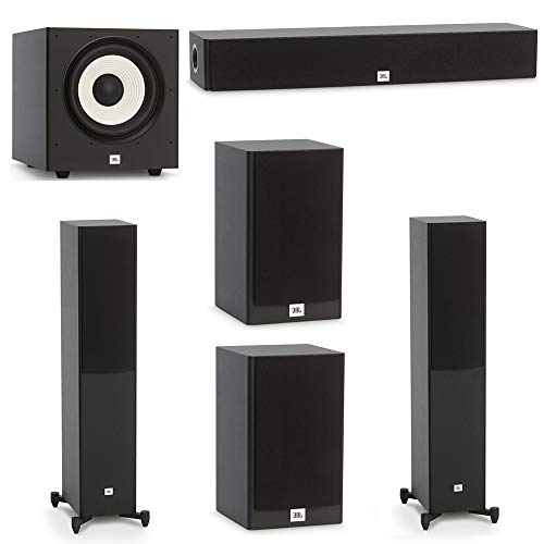 Lowest Prices! JBL 5.1 System with 2 JBL Stage A170 Floorstanding Speakers, 1 JBL Stage A135C Center...