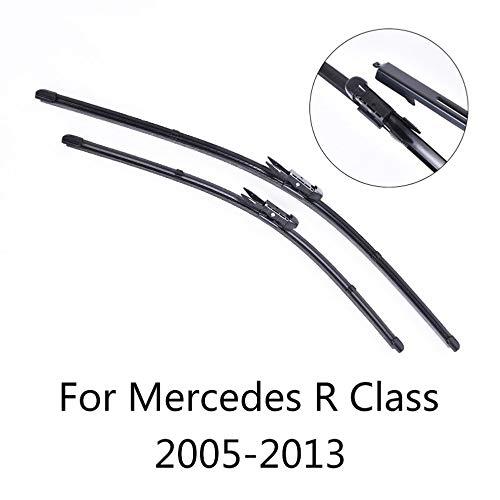 SXHNNYJ Vorderes und hinteres Wischerblatt, für Mercedes Benz R-Klasse W251 von 2005 2006 2007 bis 2013 Scheibenwischer Großhandel Autozubehör