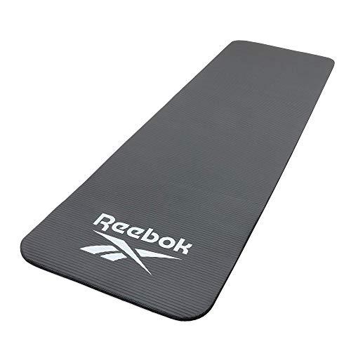 リーボック(Reebok) RAMT-11015BK トレーニングマット 10mm ヨガマット ブラック 滑り止め 厚手 防音 T241-RAMT-11015BK