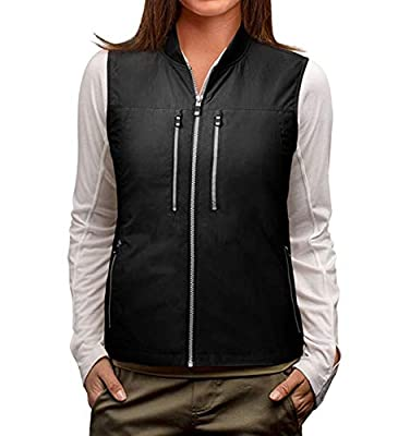 SCOTTeVEST 101 Travel Vest for Women with Pockets - Lightweight Utility Vest BLK XL by