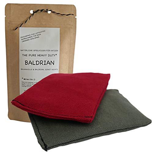Kira Gates Baldrian Spielkissen-Set The Pure Heavy Duty  2 Stück  extra stark   Reine Baumwolle
