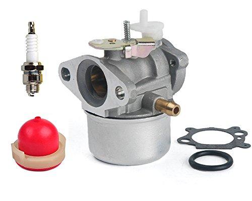 B Blesiya Carburateur Carb pour Briggs \u0026 Stratton Pi/èces de Tondeuse /à Gazon