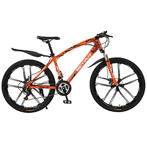 Bicicleta de montaña Mountainbike Bicicleta MTB 21/24/27 acero marco de una velocidad de 26 pulgadas ruedas de radios de doble suspensión de la bici Bicicleta De Montaña Mountainbike MTB Bicicleta