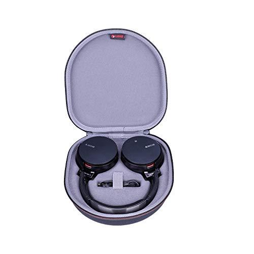 XANAD Duro Viaggio Trasportare Custodia per Sony WH CH700N or Sony XB950B1 Cuffia wireless extra Bass Cuffie Wireless Bluetooth e NFC Extra Bass - Protettivo Caso Borsa Scatola