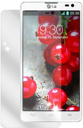 dipos I 2X Schutzfolie klar kompatibel mit LG Optimus L9 2 Folie Displayschutzfolie