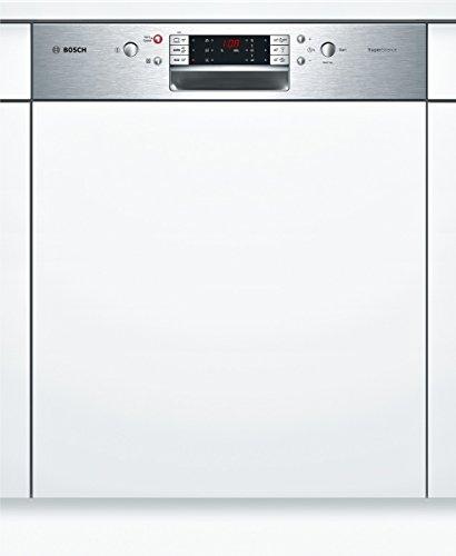 Bosch SMI68M85EU teilintegrierbarer Geschirrspüler / Einbau / A++ / 14 Maßgedecke/ Edelstahl / SuperSilence