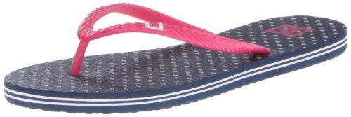 DC Shoes Spray Graffik J SNDL BK1, Tongs Femme, Grau (DC Navy), 39