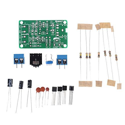 EATAN Leiouser - Módulo generador de señal de ruido blanco, kit electrónico de bricolaje (2 canales, salida de 2 canales, para terapia de prueba de quemado en el insomnio