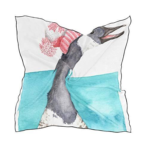 FANTAZIO Kerchief Canada Goose Lichtgewicht Mode Sjaal & Hoofd Wikkel voor meisjes Vierkante vorm