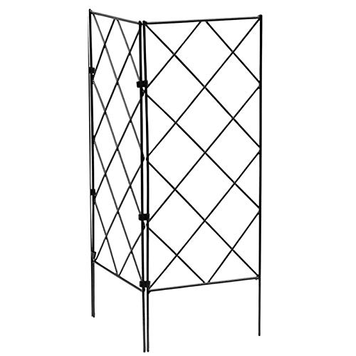 AIHOME Plant Support Frame, Multifunctional Gardening black iron Frame for Vines and Climbing Plants