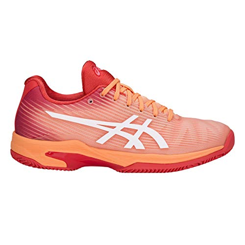 Asics Solution Speed FF Clay - Scarpa Tennis Donna - 1042A003-700 (EU 40 - CM25.5- UK 6.5)