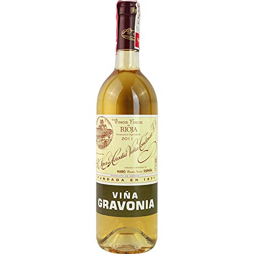 Vina Gravonia Crianza blanco 2011 Rioja Crianza DO Weißwein trocken Lopez de Heredia Vina Tondonia Spanien 750ml-Fl (78,67€/L)