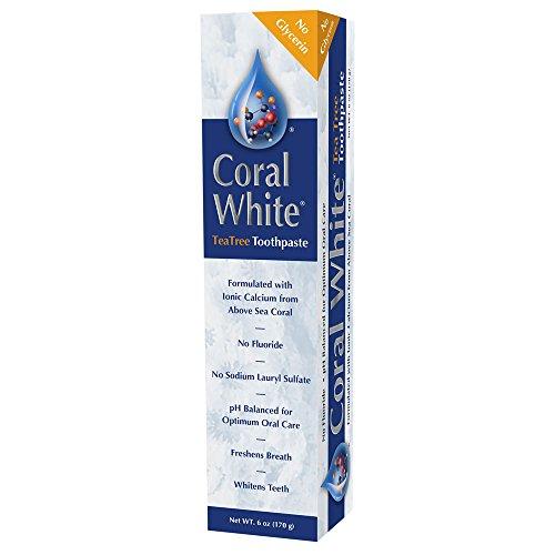 Coral LLC - Cinnamon Tea Tree Fluoride-Free Toothpaste - 6 Ounces (1-Pack)