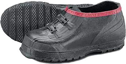 Sobrezapatos, para hombre, 9, 2 hebillas, color negro, goma, PR