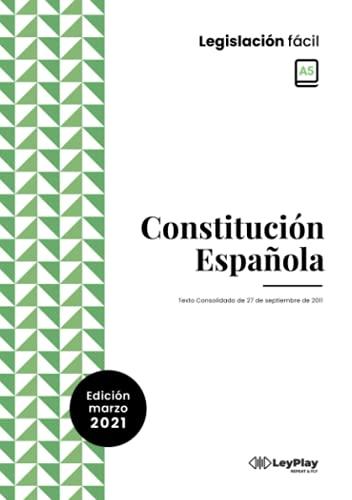Constitución Española: Tamaño pequeño