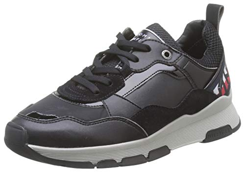 Tommy Hilfiger Damen Fiona 8c2 Sneaker, Schwarz (Black Bds), 39 EU