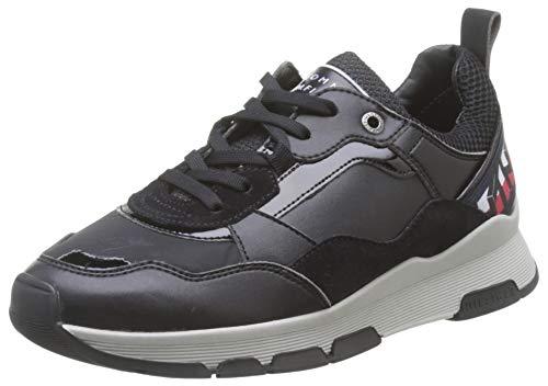 Tommy Hilfiger Damen Fiona 8c2 Sneaker, Schwarz (Black Bds), 38 EU