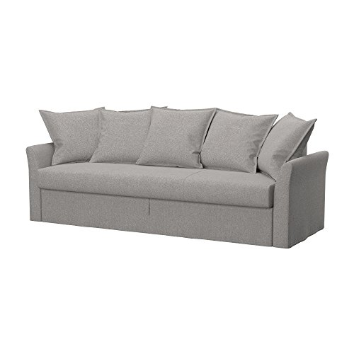 Soferia - Ikea HOLMSUND Fodera per Divano Letto a 3 posti, Glam Stone