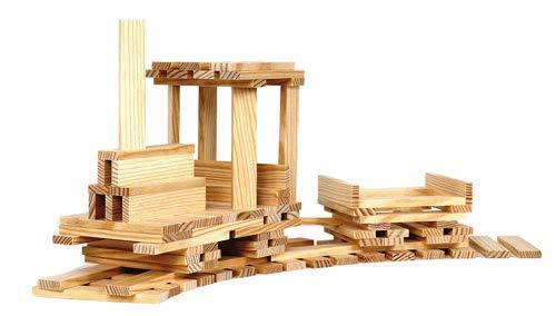 Kapla 100er Box Original Holz Bausteine Plättchen Klötze - 6