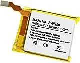 Bestome - Batería de repuesto compatible con Sony Smartwatch 3 SWR50 GB-S10 GB-S10-353235-0100 1ICP4/32/36