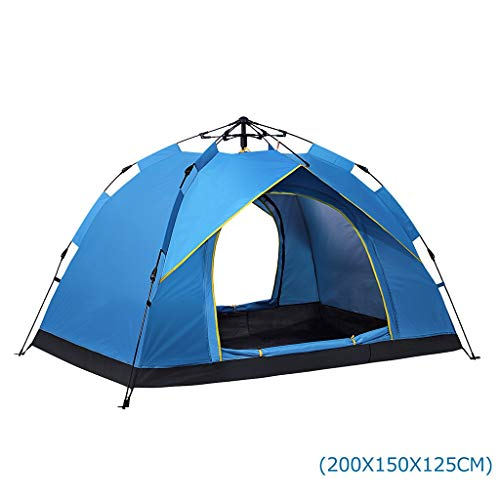 Koepeltent tent 2 personen tent Instant Pop Up Open Anti UV luifel tent Outdoor Sunshelter 200 * 150 * 125 cm C