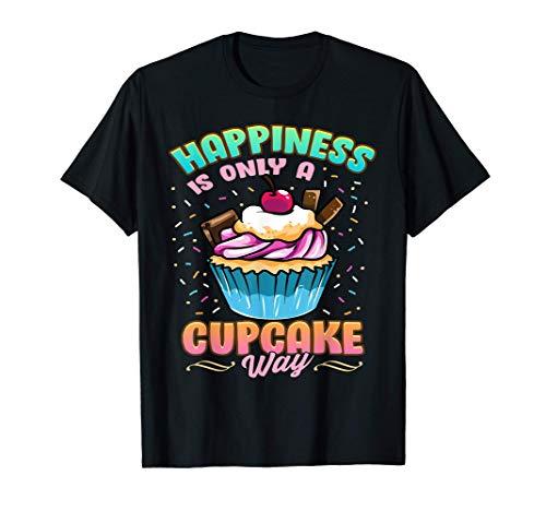 Amoureux des cupcakes et du bonheur de saupoudrer les gâteau T-Shirt