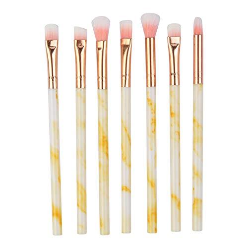 MEISINI Set de pinceaux de maquillage pour les yeux Ombre à paupières Lèvres de grande taille Contour de la floraison Contour des soies souples Set de maquillage