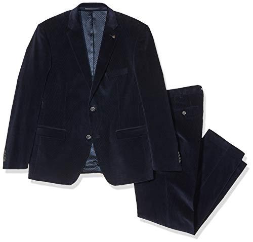 Roy Robson Herren Regular Anzug, Blau (Dunkelblau B401), 58