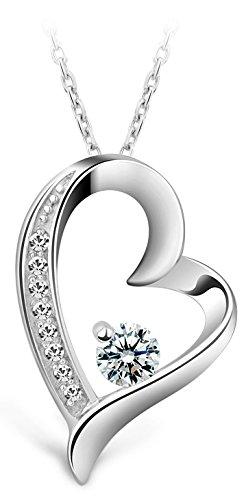 NavyBlu® Damen Halskette Echtsilber