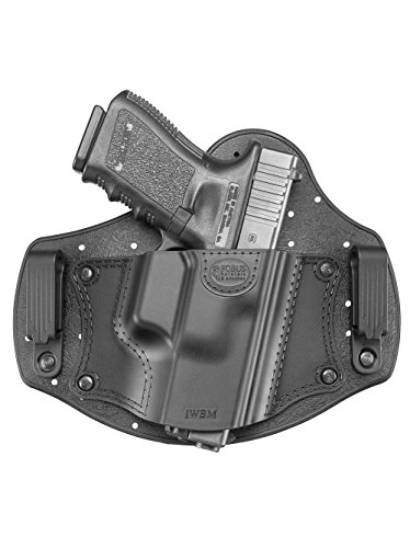New Fobus IWBM Right Hand IWB Inside Waistband Passive Retention Holster Fits Glock 17,19,26,27,28,33,43 / Beretta PX4 Compact / Sig Sauer P320, P228 / Walther PPQ, P99 / Smith & Wesson M&P Shield, M&P Compact / FN - FNS, FNX / Ruger SR9, SR40, SR45, LC9 / Springfield XD Sub-Compact / Taurus 709 Slim, PT111 G2