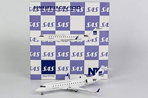 NG Model NGM51016 1:200 SAS CRJ-100LR Reg #OY-RJI Operated by Cimber Air (pre-Painted/pre-Built)