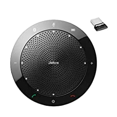 CLEARER CONVERSATIONS – The outstanding sound quality in the Jabra Speak 510 Wireless Bluetooth Portable Speaker ensures everyone is heard during conference calls, making your meeting more efficient. The 360-degree microphone pick up sound at all ang...