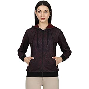 Monte Carlo Maroon Printed Cotton Blend Sweatshirt 7 41uPGszXgCL. SS300
