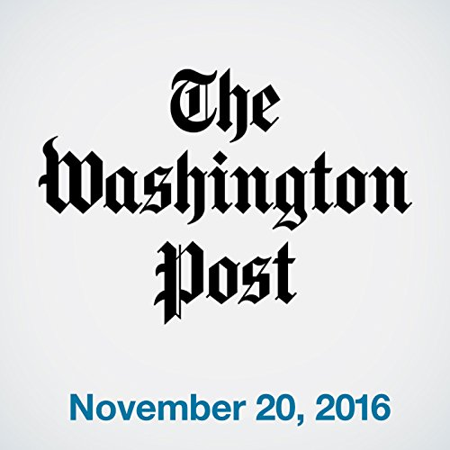 Top Stories Daily from The Washington Post, November 20, 2016 copertina