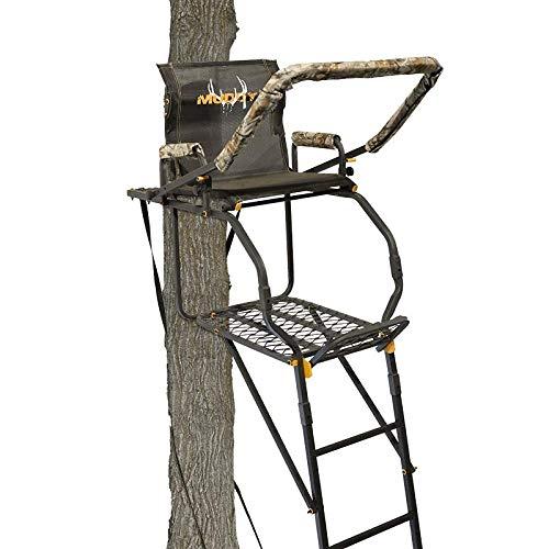 Muddy -Excursion 17' Ladder Stand (Huntsman Deluxe),...