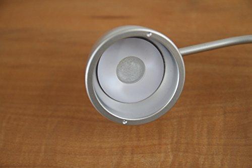 ジェントス(GENTOS)ジェントスそだつライト(シルバー)幅18×奥行き10×高さ37.2(cm)台座:幅18×奥行き10(cm)
