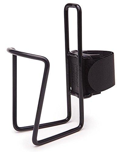 Klean Kanteen Coated Steel Quick Cage flessenhouder fiets, zwart, één maat
