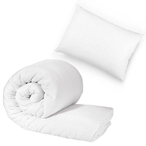 Bluemoon Bedding Anti Allergy - 9 Tog 120cm x 150cm Junior/Toddler Cot Bed Duvet And Pillow Set