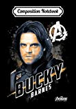 Composition Notebook: Marvel Avengers Infinity War Bucky Barnes Graphic, Journal 6 x 9, 100 Page Blank Lined Paperback Journal/Notebook -  Independently published
