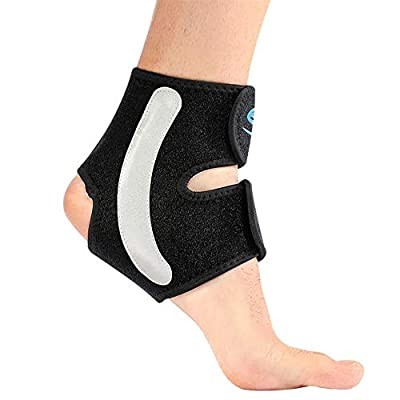 Siwei Ankle Brace for Men & Women – Ankle Support for Residual Pain during Injury Recovery, Sprains, Arthritis and Plantar Fasciitis, Breathable Neoprene Foot Brace Ankle Wrap Support