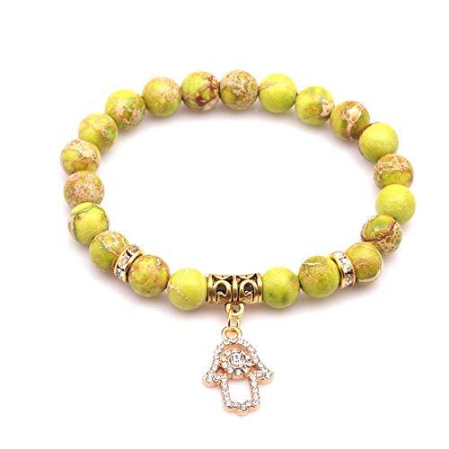 XZHYMJ Piedra del Emperador Natural Regalo de San Valentin Jewelry Pulseras