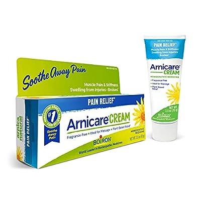 Boiron Arnicare Cream 2.5 Ounces Topical Pain Relief Cream