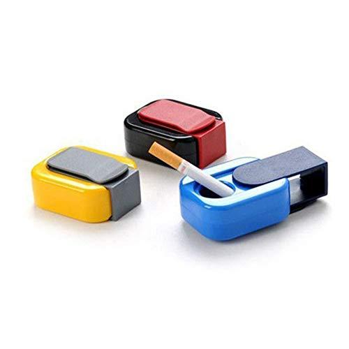 Byfri 2pcs PVC port/átil ceniceros de Bolsillo al Aire Libre de Fumar cigarro Almacenamiento del Tabaco Bolsa de Accesorios de Viaje