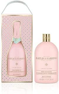 Limited Edition Pink Fizz & Elderflower Fragranced Bath Bubbles