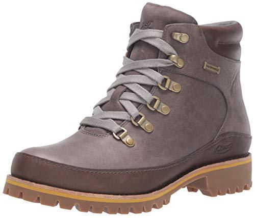 Chaco Women's Fields Waterproof Boot, Gray, 8.5 M US