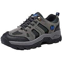 Unisex Waterproof Calzado De Senderismo Zapatillas Impermeable para Mujer Enviar Calcetines Gris 45 EU