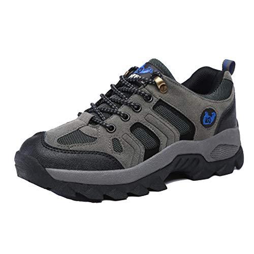 Unisex Waterproof Calzado De Senderismo Zapatillas Impermeable para Mujer Enviar Calcetines Gris 39 EU