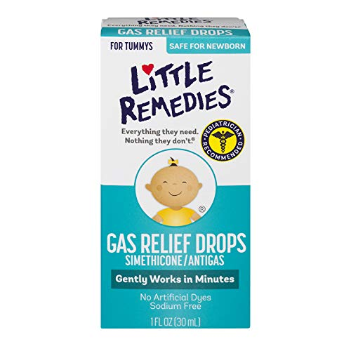 Little Remedies Little Remedies Little Tummys Gas Relief Drops Natural Berry Flavor 1 oz (Pack of 2)