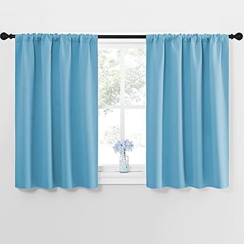 NICETOWN Kitchen Window Blackout Curtain Panels - Energy Saving Window...